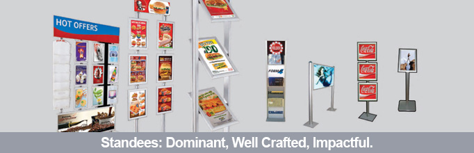 Standees Digital Menu Boards